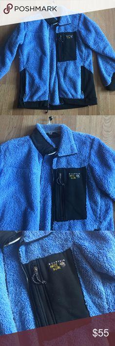 Mountain Hardwear jacket Blue fleece jacket. So warm Mountain Hard Wear Jackets & Coats