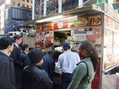 Biryani cart in NYC.....street food on cooking channel