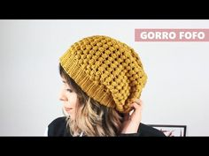 Crochets En Crochet, Bonnet Crochet, Crochet Beanie, Crochet Baby, Knitted Hats, Slouchy Beanie, Beanie Hats, Baby Patterns, Crochet Patterns