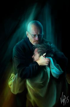 Breaking Bad, this broke my heart watching the final.episode  thank goodness Walt went back for Jessie ❤