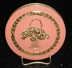 Vintage Flowerbasket compact