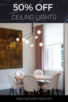 Enjoy a flat 50% off on all ceiling lights. Click the pin for more details. Basement Lighting, Closet Lighting, Exterior Lighting, Living Room Lighting, Neon Lighting, Bathroom Lighting, Home Decor Lights, Farmhouse Lighting, Pretty Lights
