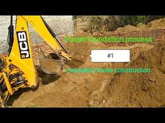 #1 House foundation process and first step of construction | Complete house construction work - YouTube House Foundation, House Map, First Step, House Plans, Construction, How To Plan, Youtube, Building, House Floor Plans
