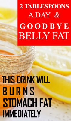 Get a Slim Stomach: 2 Tablespoons a Day and Goodbye Belly Fat! (Recipe) via @globalpublichealth