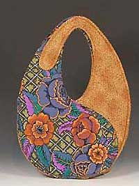 bag pouch Scrap-bags Sewing Patterns for Bags, Purses, Crafts and Quilts: Yin-Yang Scrap-bag features Kaffe Fasset Native Arts by Robert Kaufmantwo hour tulip purse pattern freeKaffe Fassett fabric - I want this.I think I would like this of one color Purse Patterns Free, Bag Patterns To Sew, Sewing Patterns, Patchwork Bags, Quilted Bag, Fabric Bags, Fabric Basket, Handmade Bags, Bag Making