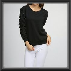 HP Black Spiked Sweater Available in S,M,L Moon Collection Sweaters Crew & Scoop Necks