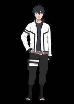 Menma Uzumaki, Hinata Hyuga, Boruto, Naruto Oc Characters, Fictional Characters, Ninja Armor, Military Art, Anime Art, Character Design