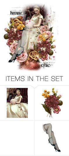 """""""Baroque Chic"""" by poshtrish ❤ liked on Polyvore featuring art, dollset, artset and artexpression"""