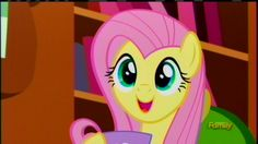 Fluttershy With A Cup Episode 7 Season 5