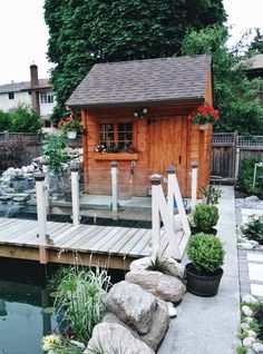 Isn't this an ideal garden? 100% YES! Small Wood Shed, 10x10 Shed Plans, Glen Echo, Shed Kits, Arched Windows, This Is Us Quotes, Single Doors, Flower Boxes, Building Plans