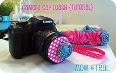 Camera Lens & Strap Cover Tutorial