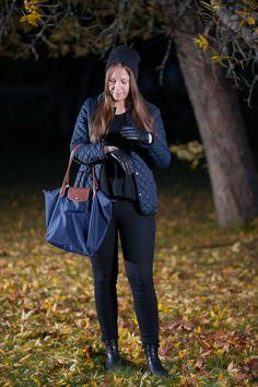 Visit my blog for more details! #jacket #hat #Longchamp #fall #autumn #VILA #HM #gloves #streetstyle #style #emmyslife