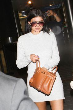 Kylie Jenner Photos - Kylie Jenner Departs on a Flight at LAX - Zimbio