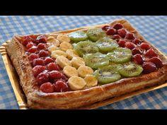 Hojaldre de crema y frutas - Recetas Mallorquinas - YouTube