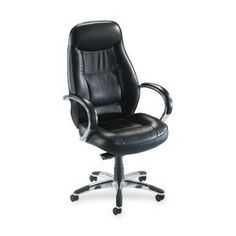 Lorell Office Chair - Pin it :-) Follow us :-)) AzOfficechairs.com is your Office chair Gallery ;) CLICK IMAGE TWICE for Pricing and Info :) SEE A LARGER SELECTION of  lorell office chair at http://azofficechairs.com/?s=lorell+office+chair - office, office chair, home office chair -  Lorell Hi-Back Executive Chair, 26-1/2 by 29 by 45-1/4-Inch to 49-1/2-Inch, Black Leather « AZofficechairs.com