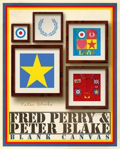 Fred Perry & Peter Blake. Amazing combination!