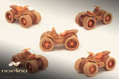 Wooden toy vehicle for kids, finished with natural oils and beeswax. Wooden Crafts, Wooden Toys, Push Toys, Natural Oils, Vehicles, Kids, Handmade, Wooden Toy Plans, Young Children