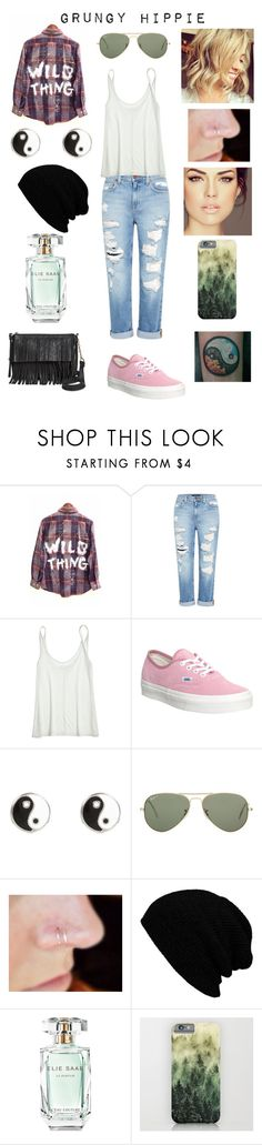 """Now, after you, I understand addiction."" by sinder-ella ❤ liked on Polyvore featuring Genetic Denim, Calypso St. Barth, Vans, River Island, Ray-Ban, Elie Saab and Mossimo Supply Co."