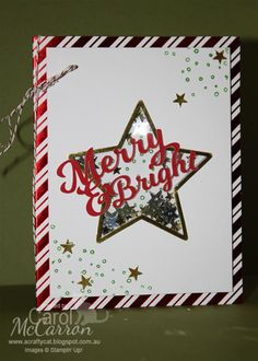 =A Crafty Cat: 2015 Christmas Stampin' Up! To You and Yours shaker cards project kit