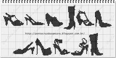 Ponto Cruz da Samsara: Gráficos sapatos!