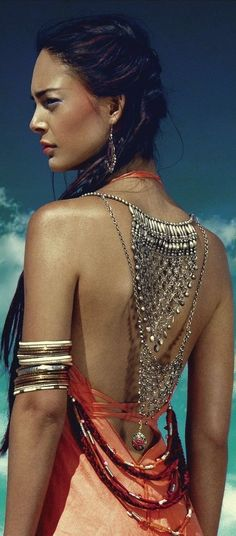 Bohemian jewelry style https//fashionstyleshopping.com
