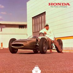 Soichiro Honda ( Honda Motor Co., Ltd founder).