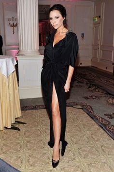 What: Victoria Beckham Where: British Fashion Awards 2010
