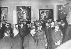 Entartete kunst, Monaco 1937