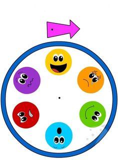 Patterns for Preparing a Kindergarten Emotions Chart - Preschool Children Akctivitiys Emotions Preschool, Teaching Emotions, Emotions Activities, Preschool Learning Activities, Feelings And Emotions, Preschool Activities, Kids Learning, Childhood Education, Kids Education