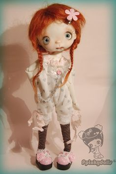 Hypate collectible BJD resin doll by Chrishanthi by ppinkydollsart