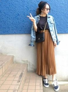 Shino◡̈*❤ from wear japan page travel outfit summer, japan Japan Summer Outfit, Spring Outfits Japan, Korean Spring Outfits, Japan Outfits, Travel Outfit Summer, Fall Outfits, Summer Outfits, Fashion Outfits, Japan Spring Fashion