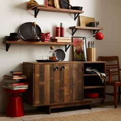 Emmerson reclaimed wood buffet from west elm