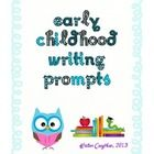 Sooo using these next year! This set includes 42 writing prompt printables to use in early childhood classrooms throughout the year. These writing prompts range in difficulty ...