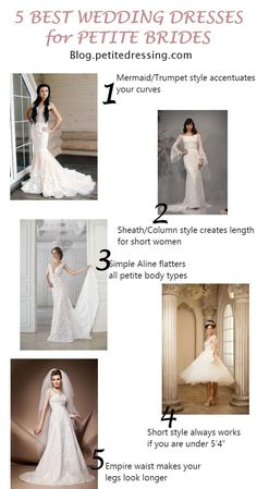 db015ba64ef 5 Best Wedding Dresses for Petite Brides