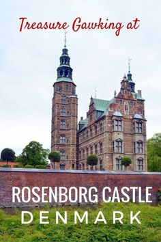 Guide and tips to visiting the ornate rooms and crown jewels at the Treasury of Rosenborg Castle in Copenhagen with kids | Denmark with kids
