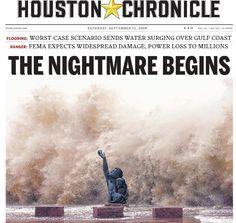 Galveston Sea wall memorial of the hurricane of 1900, overtaken by the waves of hurricane, Ike 2008!~
