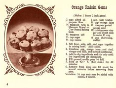 Chronically Vintage: A lovely, citrusy 1940s muffin recipe for any time of the day