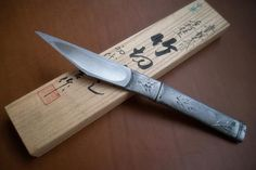 ¶¶ #toutoblog.unblog.fr aime ☺ | kiridashi | japanese blade | lame japonaise | couteau japonais | knife Cool Knives, Knives And Tools, Knives And Swords, Sims Love, Japanese Tools, Japanese Blades, Farm Tools, Knife Art, Knife Sharpening