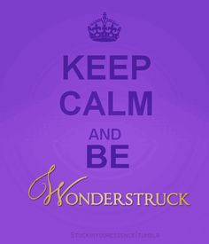 Taylor Swift keep calm and be wonderstruck