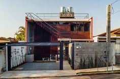 บ้านสไตล์ดิบ เท่ด้วยแผ่นเหล็กขึ้นสนิม แต่อบอุ่นด้วยต้นส้ม « บ้านไอเดีย แบบบ้าน ตกแต่งบ้าน เว็บไซต์เพื่อบ้านคุณ