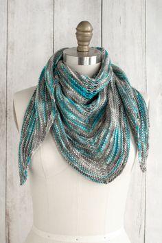 Alegria Shadow Shawl - Free Knitting Pattern