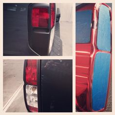Plast dipped my taillights