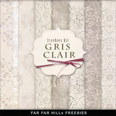 Sunday's Guest Freebies ~ Far Far Hill ♥♥♥Join 2,330 people. Follow our Free Digital Scrapbook Board. New Freebies every day.♥♥♥