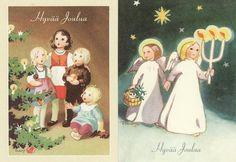 Martta Wendelin. Christmas cards