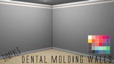 Raw & Uncut Sympxls Dental Molding Walls