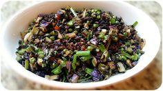 Black Fried Rice - Indo Chinese