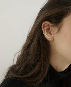 Line + Surface Ear Cuff""