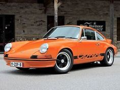 1973 Porsche 911 RS Tribute