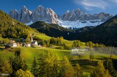 Santa Maddalena is located in the rear part of the valley at 1.339 m e has about 370 inhabitants. Here, at the foot of the Ruefen, also one of the symbols of the valley rises, which is the Santa Maddalena church (1, 394 m): according to a legend, this is the place where the miraculous image of Santa Maddalena was washed up by the Fopal river. This church, obviously with the Odle mountains in the background, is one of the most popular photo motifs of the Dolomites.