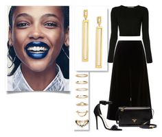 """""""....."""" by maria-alexandra2011 ❤ liked on Polyvore featuring Rosetta Getty, Marchesa, Maiyet, Prada and Forever 21"""